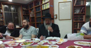 הרב זלמן לנדא התוועד בהילולת המשפיע