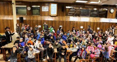 """כינוס לילדי של""""ה בבית משיח 770"""