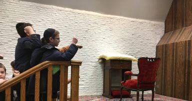 שבוע פרשת תרומה בבית משיח • יומן ותמונות