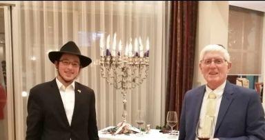 הדלקת נרות עם שגריר ישראל ביפן
