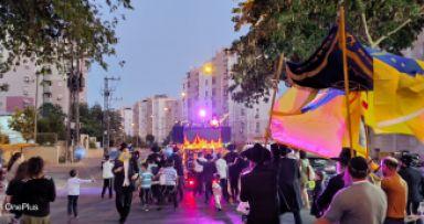מאות השתתפו בהכנסת ספר תורה בבאר שבע