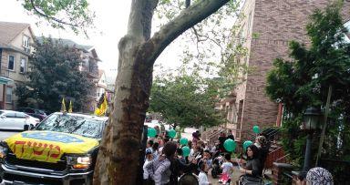 למעלה מ500 ילדים צעדו בבארא פארק ופלטבוש