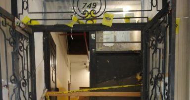 מדרגות חדשות בכניסה ל749