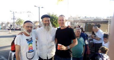 פעילות משיח בפסטיבל בעכו