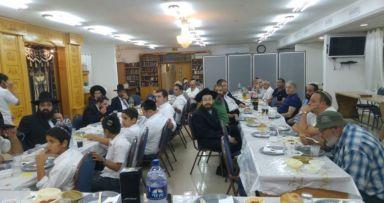 סעודת הודיה להרב שמעון שאער