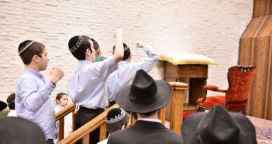 פרשת משפטים - שקלים בבית משיח - גלריה