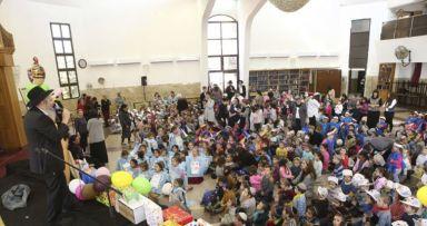 כינוס פורים לילדים בצפת